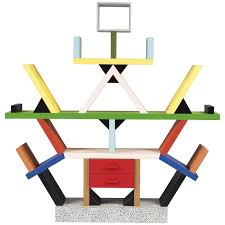 Mid Century Modern Homes For Sale Memphis by 1981 Ettore Sottsass Memphis U0027carlton U0027 Bookshelf Vintage