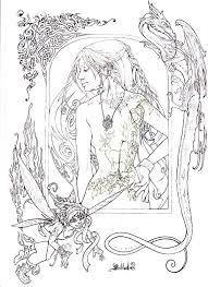 fantasy figure pallat deviantart deviantart coloring