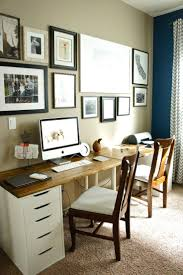 Desks Office by Best 25 Double Desk Office Ideas On Pinterest Home Study Rooms