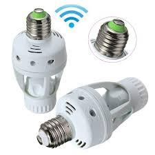 outdoor light motion sensor adapter e27 infrared pir motion sensor light bulb switch holder converter