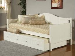 Wood Daybed Frame with Daybed White Wood White Metal Frame Daybed White Wooden Bed Guard