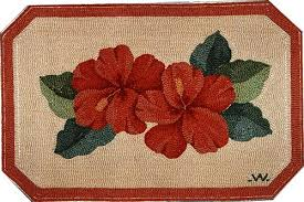 Hibiscus Rug Kits U0026 Supplies The Ruggery