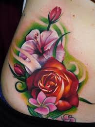 25 stunning hibiscus flower tattoos for