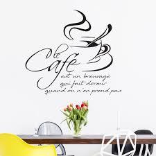 la cuisine citation sticker citation cuisine le café est un breuvage qui fait dormir