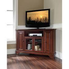 cherry corner media cabinet crosley lafayette mahogany entertainment center kf10006bma the