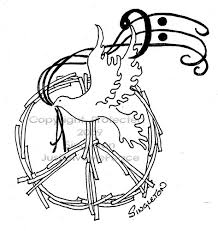 hippie peace sign tattoo design in 2017 real photo pictures