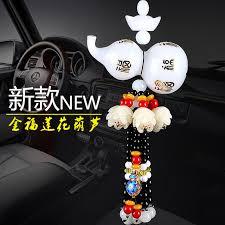 car car ornaments paul gourd perfume fu ping car car mirror