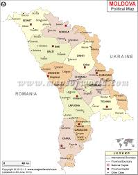 707 Area Code Map Political Map Of Moldova Moldova Raions Map
