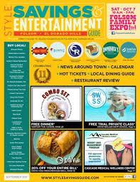 round table pizza el dorado hills town center style savings entertainment guide folsom el dorado hills