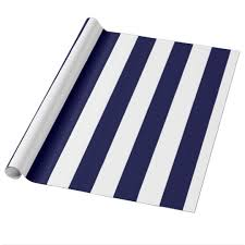 navy blue wrapping paper blue and white wrapping paper zazzle