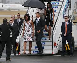 michelle obama wears carolina herrera for historic cuba visit racked