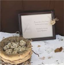 bird seed favors edible wedding favors centerpiece table decor birds by nature