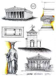 cladiri importante din grecia antica parthenon athens building