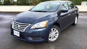 blue nissan sentra 2014 2015 nissan sentra sv 6 speed manual test drive review