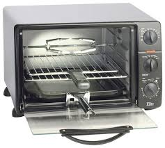 Best Toaster Oven Broiler Elite Cuisine 0 8 Cu Ft 6 Slice Toaster Oven Broiler Black Ero