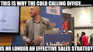 Cold Calling Meme - abigail allen director of engagement edmodo linkedin