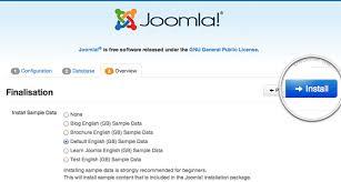 how to install joomla