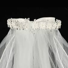 holy communion veils rhinestones pearls floral crown communion veil s
