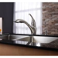 single handle pull out kitchen faucet kraus kitchen faucets at single lever modern spiral pull