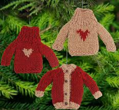 bitty sweater ornament the hunger site