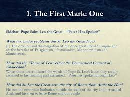 Council Of Chalcedon Teachings Chapter 5 The Four Marks Of The Church Ppt