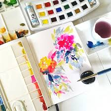 i u0027ve never used so many watercolor brands in one piece it just so