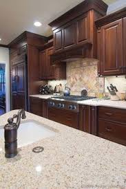 Cherry Cabinets In Kitchen Traditional Kitchen Design Ideas Pictures Remodel And Decor