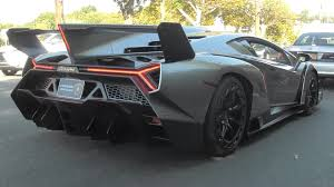 lamborghini veneno 2017 lamborghini veneno on the road with revving speed and motion