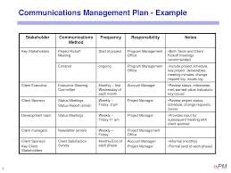 sample communications resume best photos of communication plan example example communication project management communication plan template