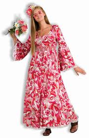 Hippie Halloween Costumes Amazon Flower Child Costume Standard Clothing