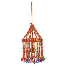 Handicraft For Home Decoration by Multicolour Handicraft Ghungroo Jhumar