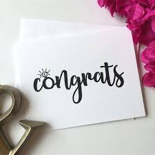 congratulations on engagement card best 25 engagement congratulations message ideas on