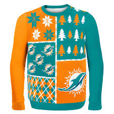 nfl sweaters nfl busy block sweater miami dolphins awesome
