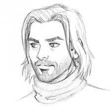 comic self portrait pencil sketch by almayer on deviantart