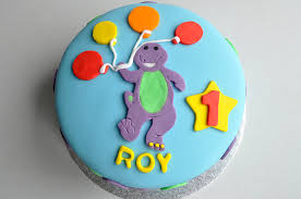 barney birthday cake children s birthday cakes kildare treats