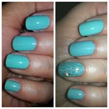 notd u2013 tiffany blue nails