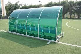 2014 aluminum soccer coach bench team shelter soccer player dugout