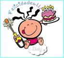 Feliz aniversario amigos