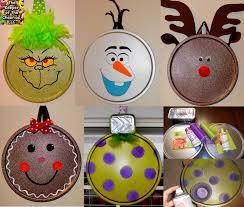 Home Made Xmas Decorations Pizza Pan Ornaments