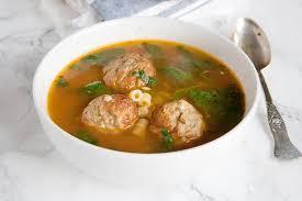 Italian Soup by Italian Meatball Soup Food Fanatic