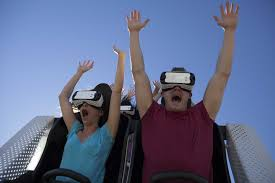 Six Flags The Great Escape Great Escape Gets Virtual Reality Roller Coaster Times Union