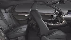 lexus nx 2018 dimensions boot space and interior