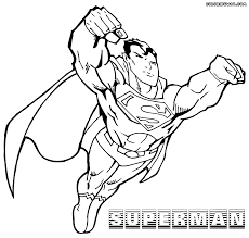 superman coloring pages coloring pages to download and print