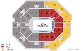 Ticketmaster Floor Plan Uno Lakefront Arena New Orleans Tickets Schedule Seating