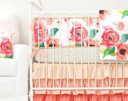 boho crib bedding etsy