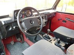 mercedes g wagon red interior mercedes g wagen 300 gd wagon 460 model