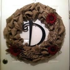 monogram wreath farmhouse door wreath npedia info