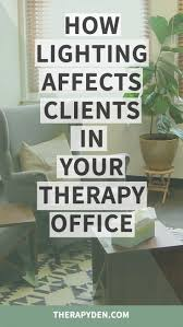 Psychotherapy Room Design Counseling Office Decor High
