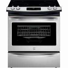 Small Cooktops Electric Kenmore 42533 4 6 Cu Ft Slide In Electric Range W Ceramic