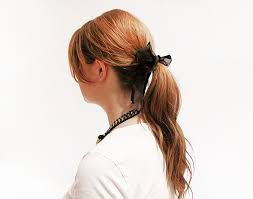 hair ribbon 5 ways to wear a black hair ribbon stylecaster